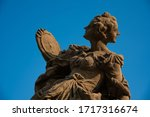 Detail Of Baroque Statue With...