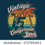 vector wave surf illustration... | Shutterstock .eps vector #1717451011