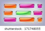 button vector | Shutterstock .eps vector #171748055