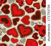 seamless pattern of fairy... | Shutterstock .eps vector #171753734