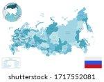 Russia Administrative Blue...