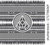 native american pattern art | Shutterstock .eps vector #171758369