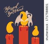 blessed beltane   vector...   Shutterstock .eps vector #1717588801