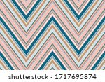 chevron pattern. zigzag stripes ... | Shutterstock .eps vector #1717695874