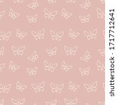 Vector Butterflies Pattern....