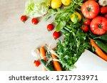 Vegetables In The Basket...