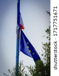 Flags Of France And The...