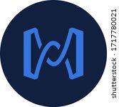 bhex token coin logo vector icon | Shutterstock .eps vector #1717780021