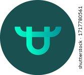 bitforex token coin logo vector ... | Shutterstock .eps vector #1717780561
