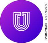 you token coin logo vector icon | Shutterstock .eps vector #1717787071