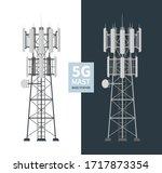5g Mast Base Stations Set On...
