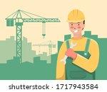 international labour day...   Shutterstock .eps vector #1717943584