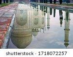 Reflection Of The Taj Mahal...