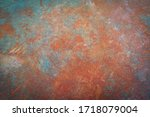Rusty Iron. The Texture Of The...
