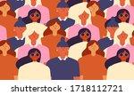 international womens day.... | Shutterstock .eps vector #1718112721