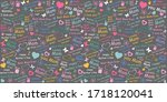 happy mother's day   i love you ... | Shutterstock .eps vector #1718120041
