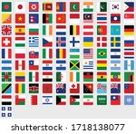 flag of all countries in one... | Shutterstock .eps vector #1718138077