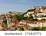 view of alfama in lisbon | Shutterstock . vector #171815771