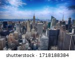 View Of The Lower Manhattan In...