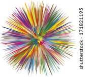 Colorful Explosion  Symbol For...