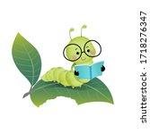 vector illustration cute... | Shutterstock .eps vector #1718276347