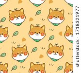 Seamless Pattern Of Dog Have...