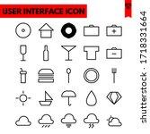 illustration of ui flat icon