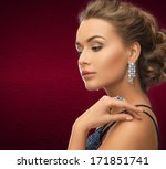 jewelry and beauty concept  ... | Shutterstock . vector #171851741
