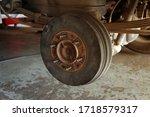 Rear Disc Brake In Process Of...