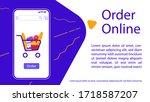 food online store  retail shop...
