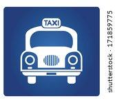 taxi symbol   Shutterstock .eps vector #171859775