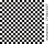black and white square pattern... | Shutterstock .eps vector #1718611027