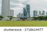 Skyline with singapore...