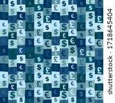 money seamless pattern. ...
