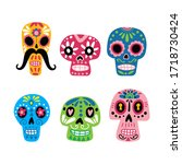 Collection Of Mexican Skulls....