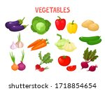 bright vector illustration of... | Shutterstock .eps vector #1718854654