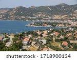 a view of foca  izmir  | Shutterstock . vector #1718900134