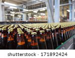 the food industry. glass beer... | Shutterstock . vector #171892424