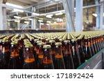 the food industry. glass beer... | Shutterstock . vector #171892424