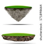 two kind of floating green... | Shutterstock . vector #171898664