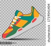 illustration of colorful...   Shutterstock .eps vector #1719041404