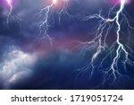 Lightning  Thunder Cloud Dark...
