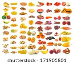 red yellow food collection... | Shutterstock . vector #171905801