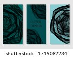 minimal vector covers design.... | Shutterstock .eps vector #1719082234