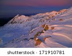 mountains covered with snow... | Shutterstock . vector #171910781