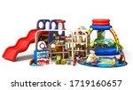 goods for kids childrens...   Shutterstock . vector #1719160657
