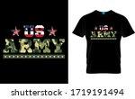 Us Army Army Usa Flag T Shirt...