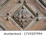 Close Up Of An Old Wooden Door...