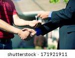 real estate  congratulations...   Shutterstock . vector #171921911