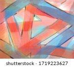 color artwork digital paint...   Shutterstock . vector #1719223627